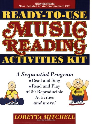 9780893281564: Ready-To-Use Music Reading Activities Kit: A Sequential Approach to Music Reading for Voices and Instruments, CD Enclosed