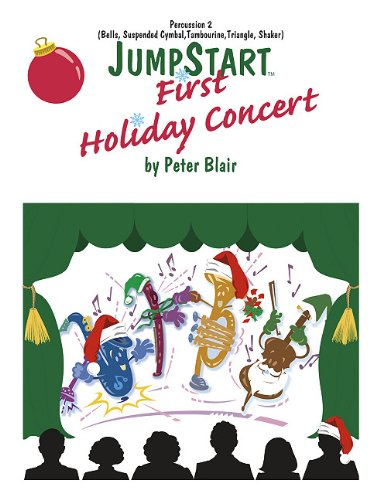 9780893281892: Jumpstart First Holiday Concert - Percussion 2 (Opt.): Grade 1