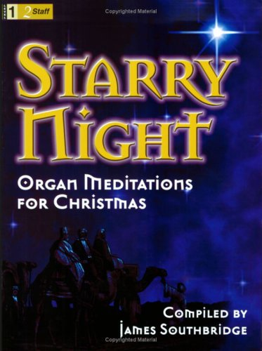9780893288433: Starry Night: Organ Meditations for Christmas