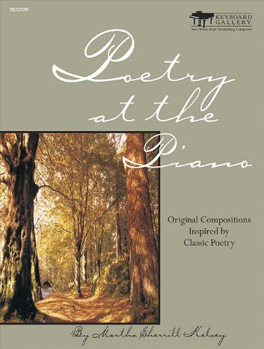 9780893288525: Poetry at the Piano - Book 4, Intermediate: Original Compositions Inspired by Classic Poetry
