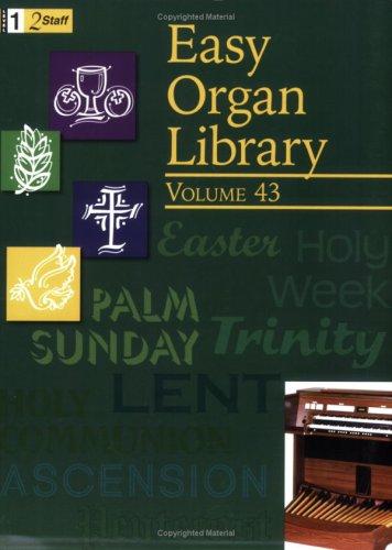 9780893288662: Easy Organ Library Vol 43 (Level 1)