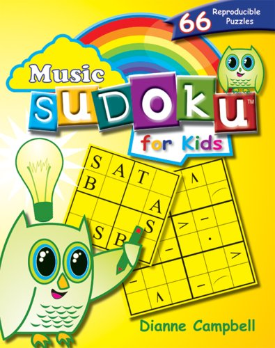 9780893289454: Music Sudoku for Kids: 66 Reproducible Puzzles