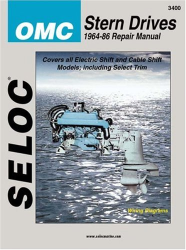 9780893300043: OMC Stern Drive, 1964-1986 (Seloc Marine Tune-Up and Repair Manuals)
