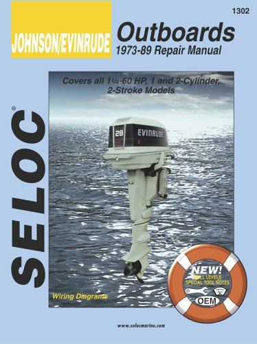 9780893300081: Johnson/Evinrude Outboards, 1-2 Cylinders, 1973-89: (1971-1989) (Seloc's Johnson/Evinrude Outboard Tune-Up and Repair Manual)