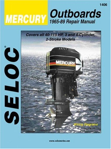 9780893300135: Seloc's Mercury Outboard, 1965-89 Repair Manual/3- And 4-Cylinder