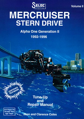 9780893300395: Mercruiser Stern Drive: (1992-1996) v. 2 (Seloc Marine Tune-Up and Repair Manuals)