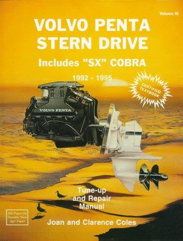 9780893300418: Volvo Penta Stern Drive: 1992-1995