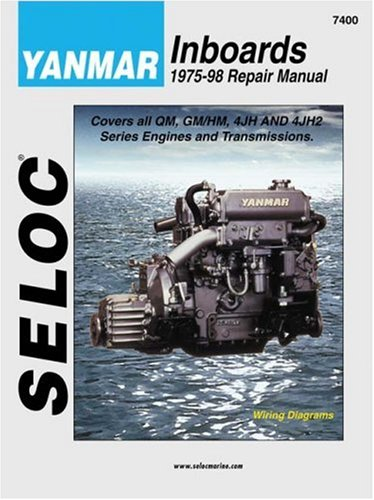 9780893300494: Yanmar Inboards, 1975-98 (Seloc Marine Manuals)