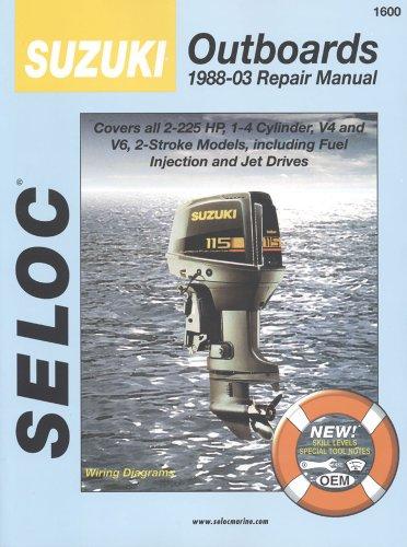 9780893300500: Suzuki Outboards 1988-2003 (Seloc Marine Manuals)