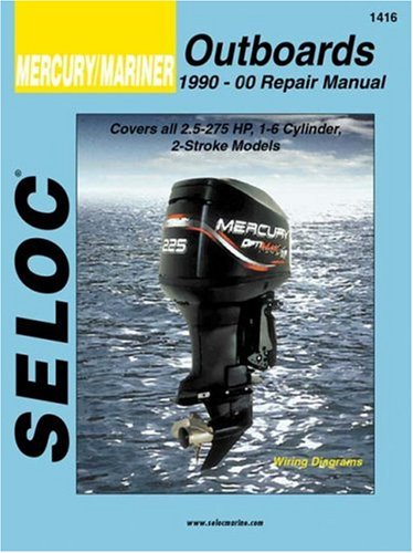 9780893300517: Mercury/Mariner Outboards, All Engines 1990-2000 (Seloc Marine Manuals)