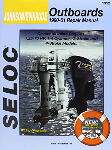 9780893300524: Johnson/Evinrude Outboards, All In-Line Engines, 2-4 Stroke, 1996-01 (Seloc's Johnson/Evinrude Outboard Tune-Up and Repair Manual)