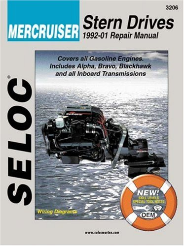 MERCRUISER STERN DRIVES 1992-2001 REPAIR MANUAL: Maher, Kevin M.