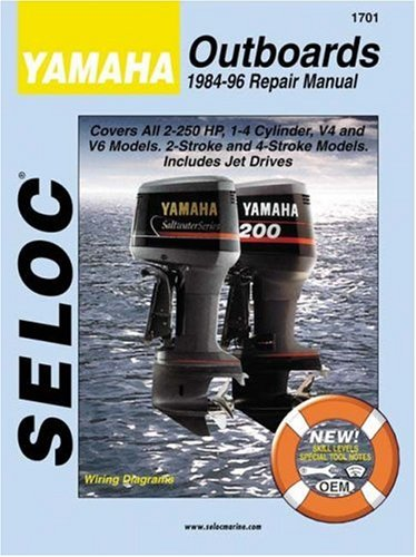 9780893300647: Yamaha Outbrds, 1-2 Cyl, 84-96 (Seloc)
