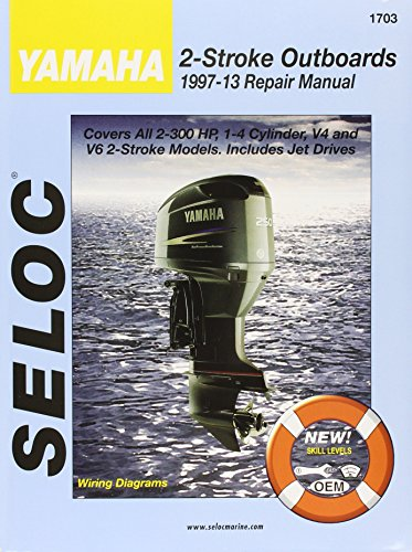 9780893300654: Yamaha Outboards 1997 - 2014 2 Stroke