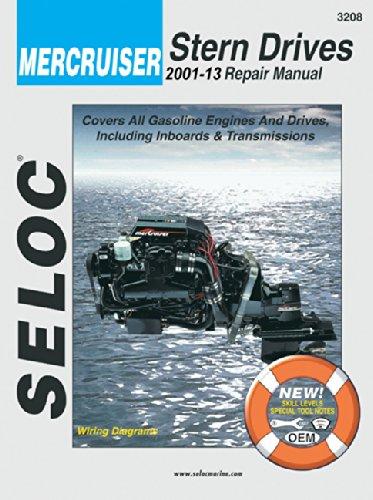 Mercruiser - All Gasoline Engines/Drives, 2001-2008 (Seloc Marine Manuals): Seloc