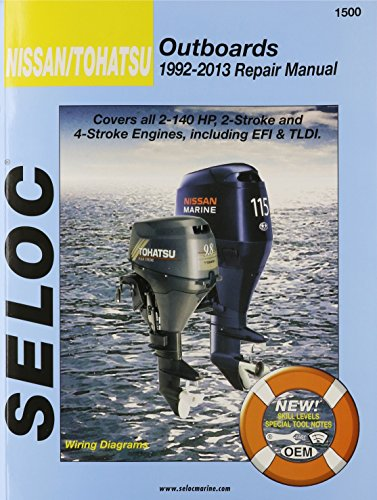 9780893300791: Nissan/Tohatsu Outboards 1992-09 Repair Manual: All 2-Stroke & 4-Stroke Models