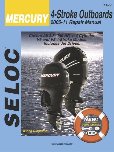 9780893300845: Mercury Outboards, 4 Stroke 2005-2011 (Seloc)