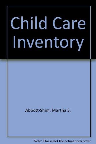 9780893340896: Child Care Inventory