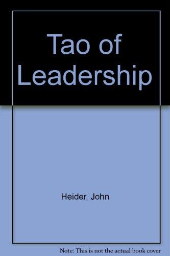 9780893341206: Tao of Leadership