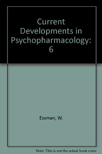 9780893350901: Current Developments in Psychopharmacology