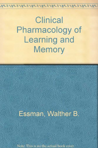 9780893351670: Clinical Pharmacology of Learning and Memory