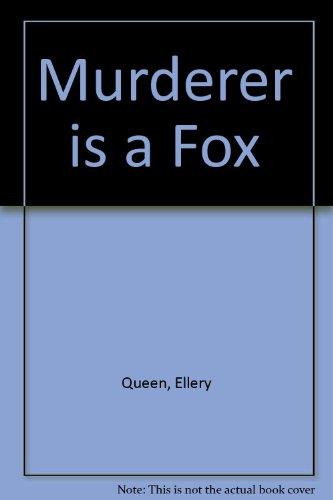9780893401054: Murderer is a Fox (An Ellery Queen mystery)