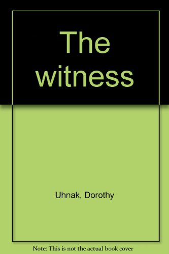 9780893403492: The witness