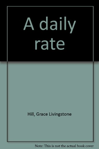 9780893408954: A daily rate