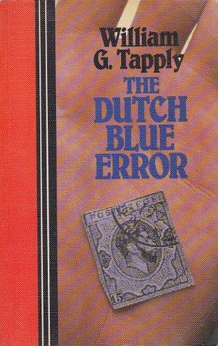 9780893409371: The Dutch Blue Error