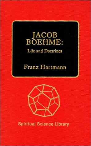 9780893450168: Jacob Boehme: Life and Doctrines