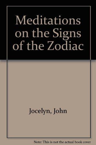 9780893450274: Meditations on the Signs of the Zodiac