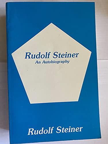 9780893452100: Rudolf Steiner: An Autobiography