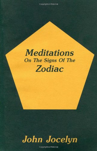 9780893452292: Meditations On the Signs of the Zodiac