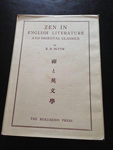 9780893460020: Zen in English Literature and Oriental Classics