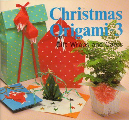 9780893462826: Christmas Origami, Vol. 3: Gift Wrap and Card