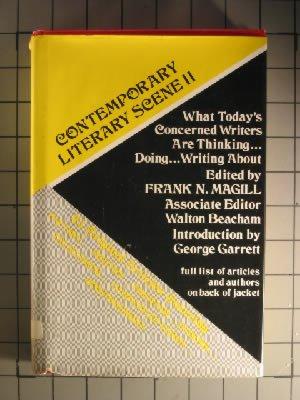 Contemporary literary scene, II: Frank N. Magill, Frank Northen Magill, Walton Beacham