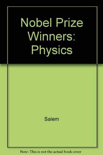The Nobel Prize Winners: Chemistry Volume 1 1901 - 1937, Volume 2 1938 - 1968, Volume 3 1969 - 1989...