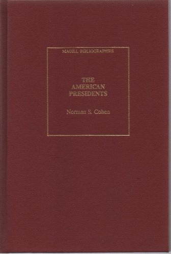 9780893566586: American Presidents (Magill bibliographies)