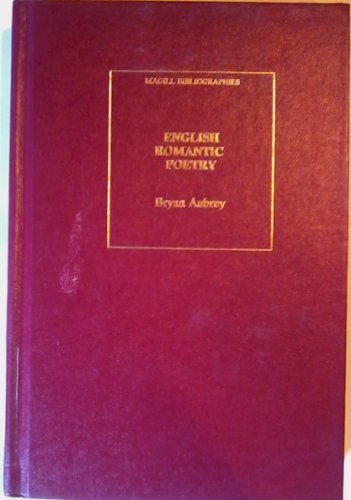Magill's English Romantic Poetry (The Magill bibliographies): AUBREY