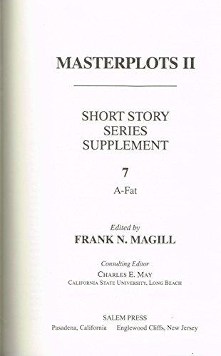 Masterplots II - Short Story Series Supplement Volume 7 (A-Fat)