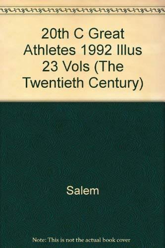 9780893567750: Great Athletes 2Oth Century (The Twentieth Century)