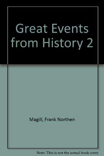 9780893568146: Great Events from History 2