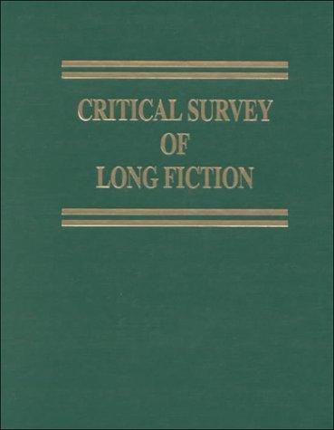 Critical Survey of Long Fiction: Truman Capote-Stanley Elkin
