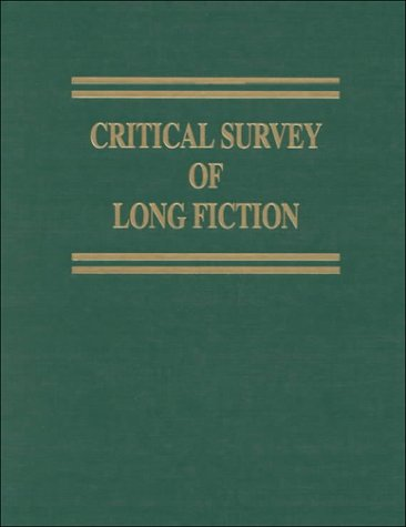 9780893568887: 006: Critical Survey of Long Fiction: V. S. Pritchett-August Strindberg