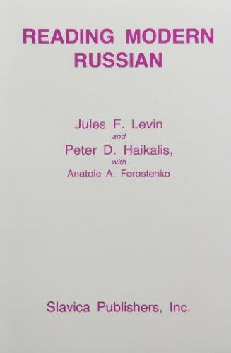 9780893570590: Reading Modern Russian