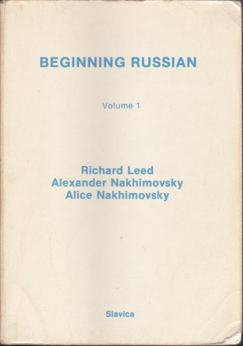 9780893570774: Beginning Russian Vol. 1