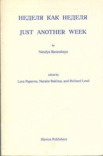 9780893572020: Just Another Week/Nedelja Kak Nedelja