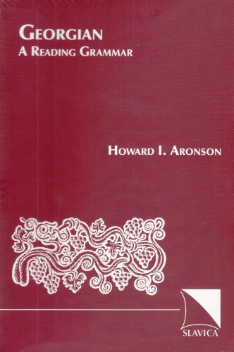 9780893572075: Georgian: A Reading Grammar (English and Georgian Edition)