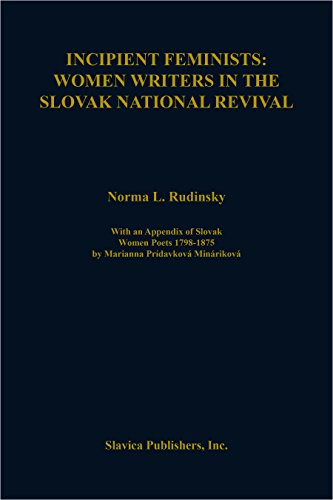 9780893572204: Incipient Feminists: Women Writers in the Slovak National Revival (Slovak Language & Literature Series, No 3)