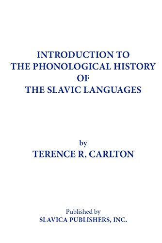 9780893572235: Introduction to the Phonological History of the Slavic Languages